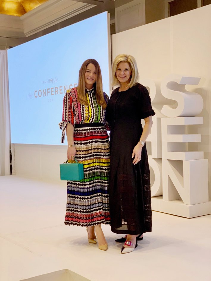 Tanya Foster and Jennifer Lake at the 2019 rewardStyle Conference