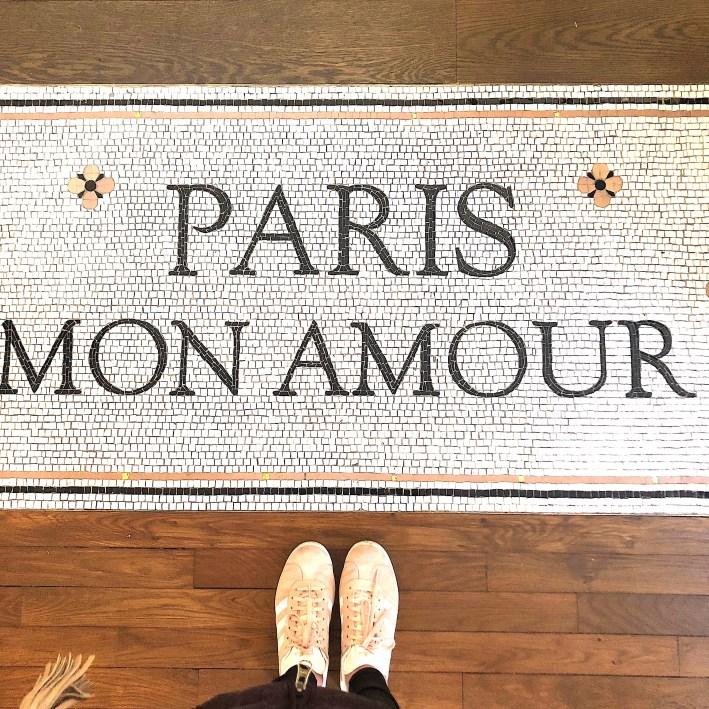 Sezane store Paris