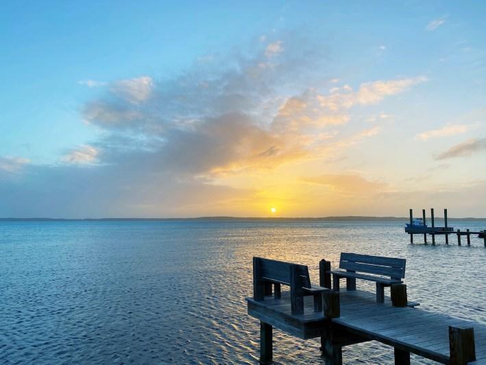 Harbour Island, Bahamas dock