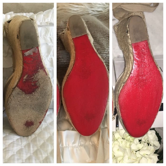 How to Restore your Christian Louboutin Shoes in 3 Easy Steps featured by top US fashion blogger, Tanya Foster