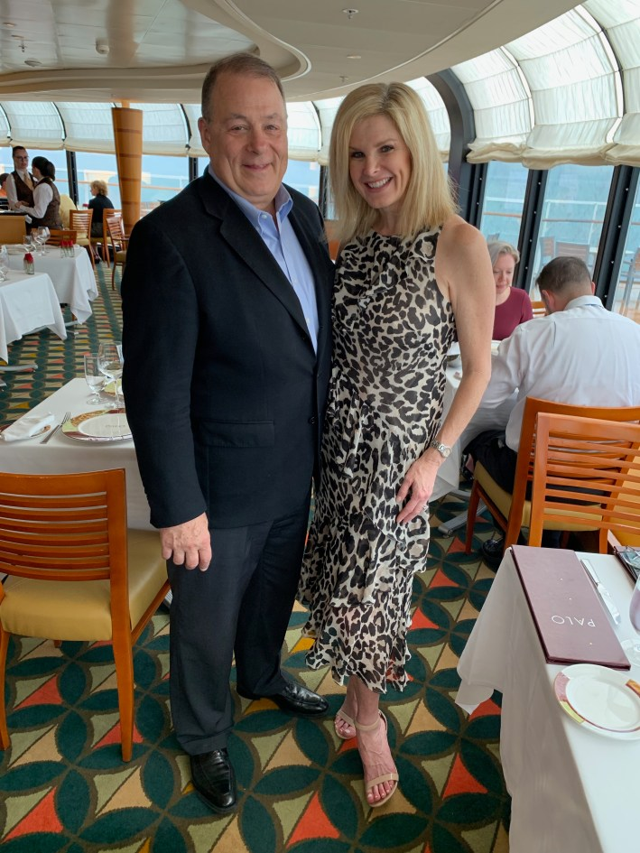 Top 10 Reasons to Book a Disney Cruise to Alaska featured by top US travel blogger, Tanya Foster: image of Tanya and Pete Foster on the Disney Wonder