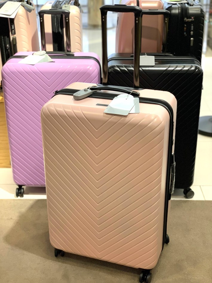 Top US fashion blogger, Tanya Foster shops the Nordstrom Anniversary Sale: image of suitcases