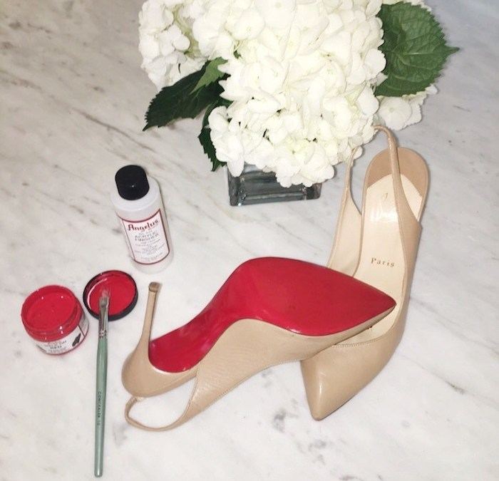 How to Restore your Christian Louboutin Shoes in 3 Easy Steps