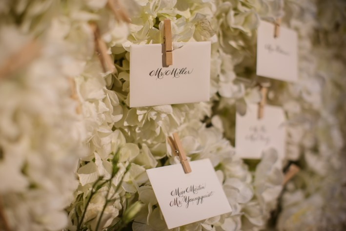 The Wedding Guide including all vendors for Taylor Foster and Jeff James wedding.