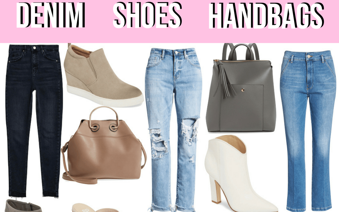 Denim, Shoes & Handbag Trends