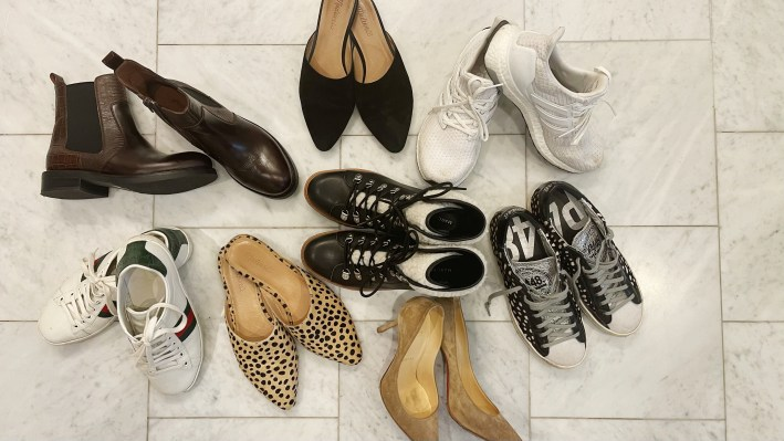 Various shoes from Nordstrom