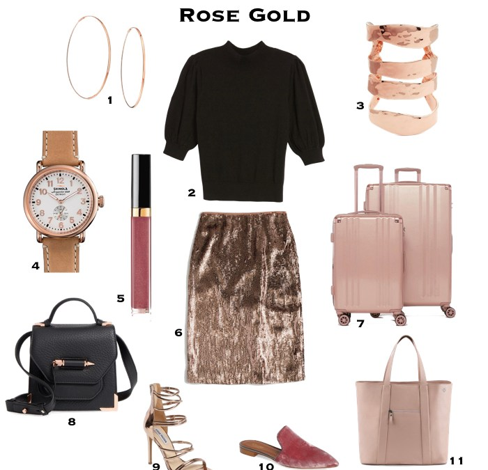 How to wear Rose Gold