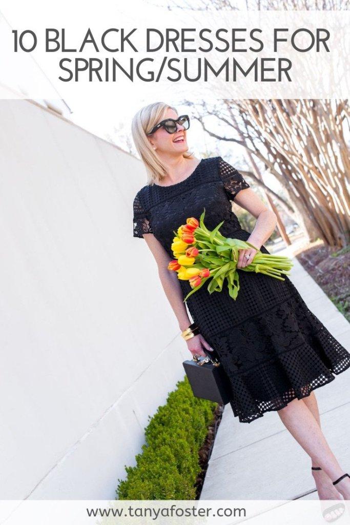 10 Black Dresses for Spring!
