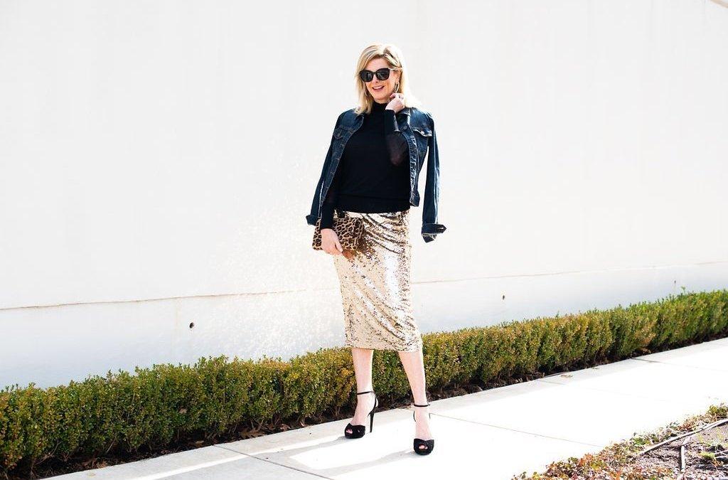 The BEST sequin skirt this season!