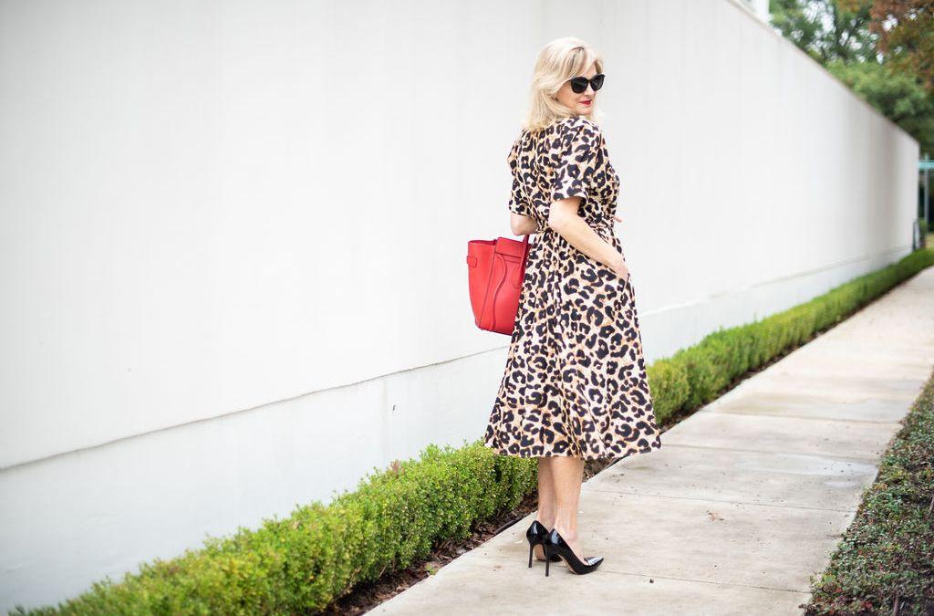 Animal Print Dress – MEOW!