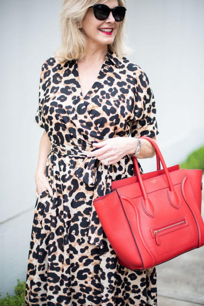 Animal Print Dress - MEOW!  cd7760222