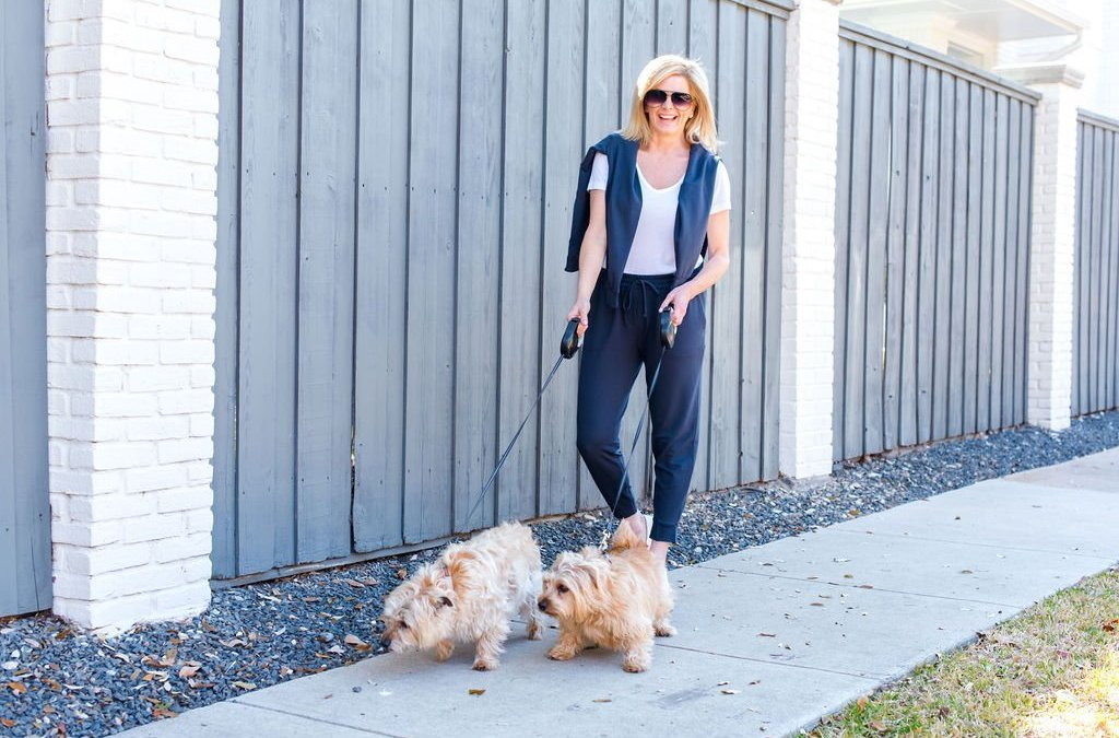 The Casual Style of a Dog Lover