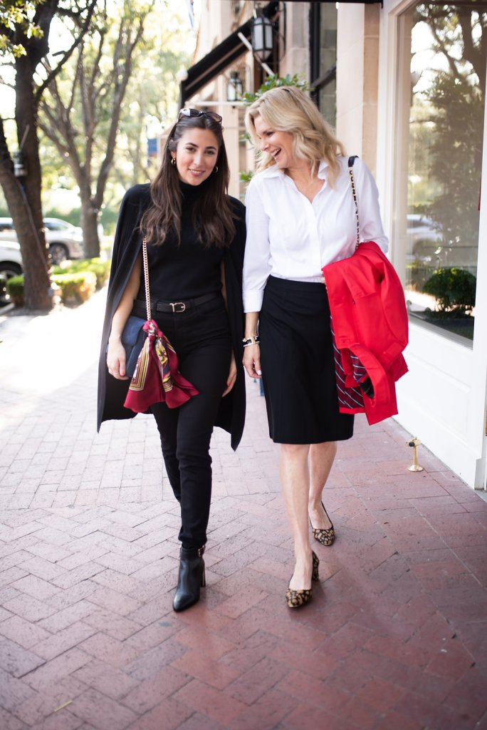 Great Style Runs in the Family campaign with Talbots. Tanya Foster and Tori Ascuito