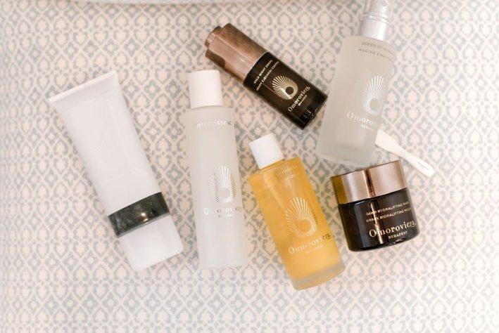 Tanya Foster using OMOROVICZA skincare