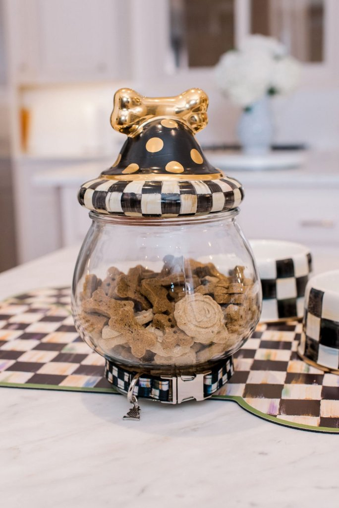 mackenzie-childs cookie jar