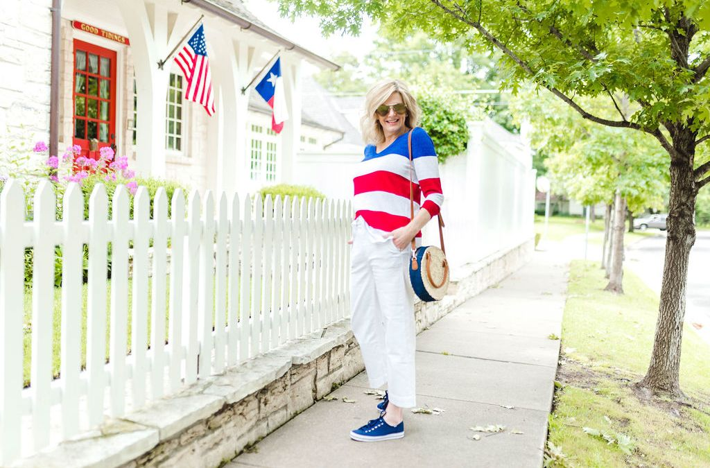 All American Style Perfect for the 4th of July