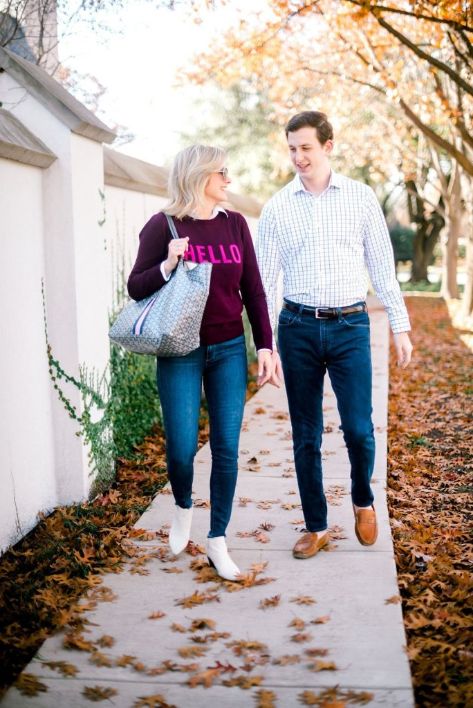 Mizzen+Main works for business or casual outfits