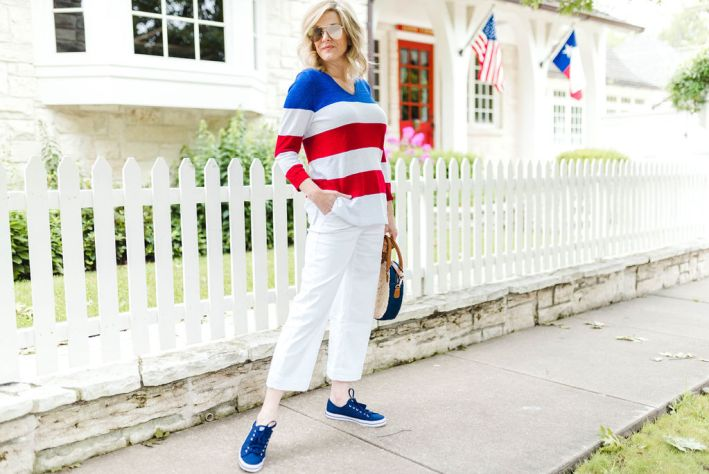 All American style for the Fourth of July