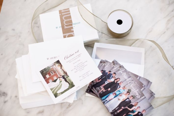 Create your custom holiday cards with Minted