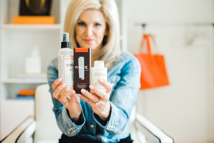 How to keep your blonde hair in good shape with dpHUE