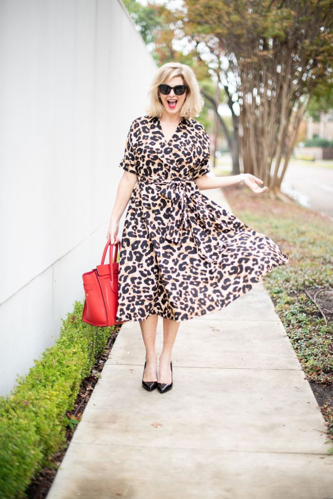 cb99875861 Animal Print Dress - MEOW!