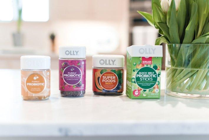 OLLY Probiotics and Super Food multi vitamin