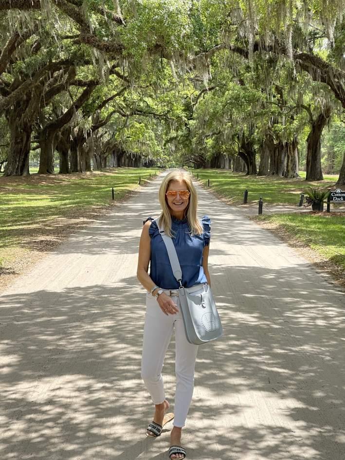 Tanya Foster at Boone Hall Plantation