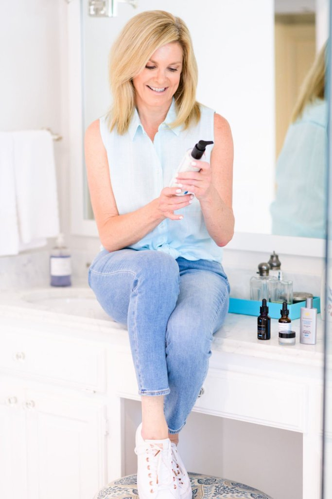 tanya foster with skinceuticals gentle cleanser