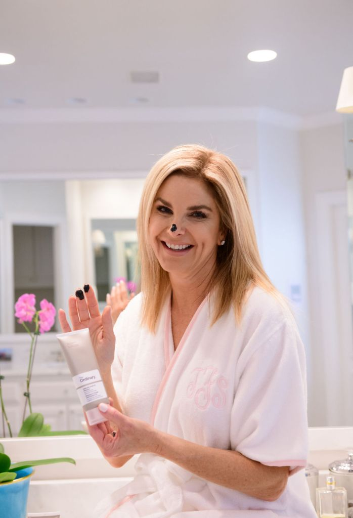 Tanya Foster using The Ordinary beauty product