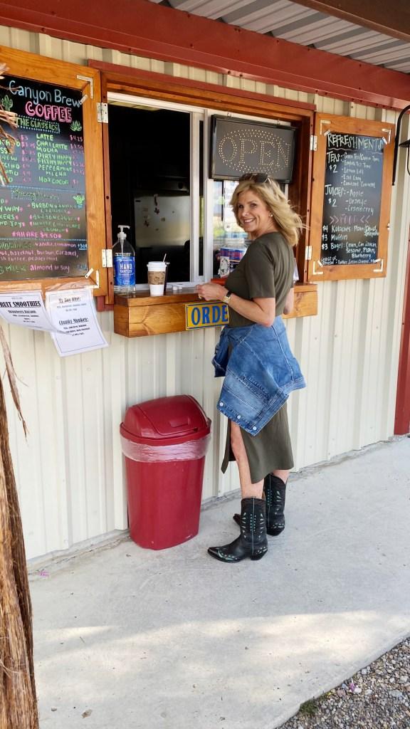 Tanya at Canyon Brew Coffee