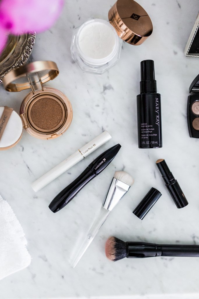 Sharing all the products I use for my daily make up routine on TanyaFoster.com