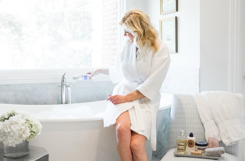 How to create an at home spa with L'Occitane