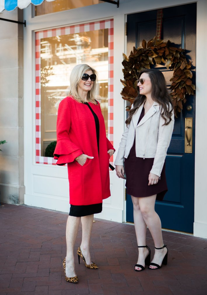 Introducing Brooke Erbe, assistant to Tanya Foster wearing fashions from Nordstrom