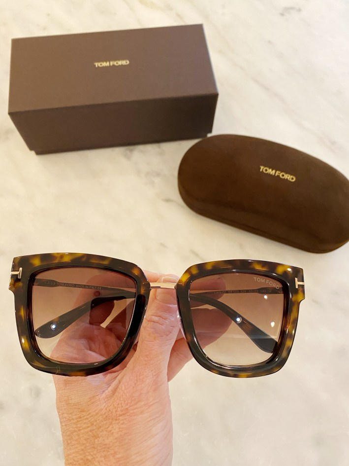 tom ford sunglasses and sunglass case
