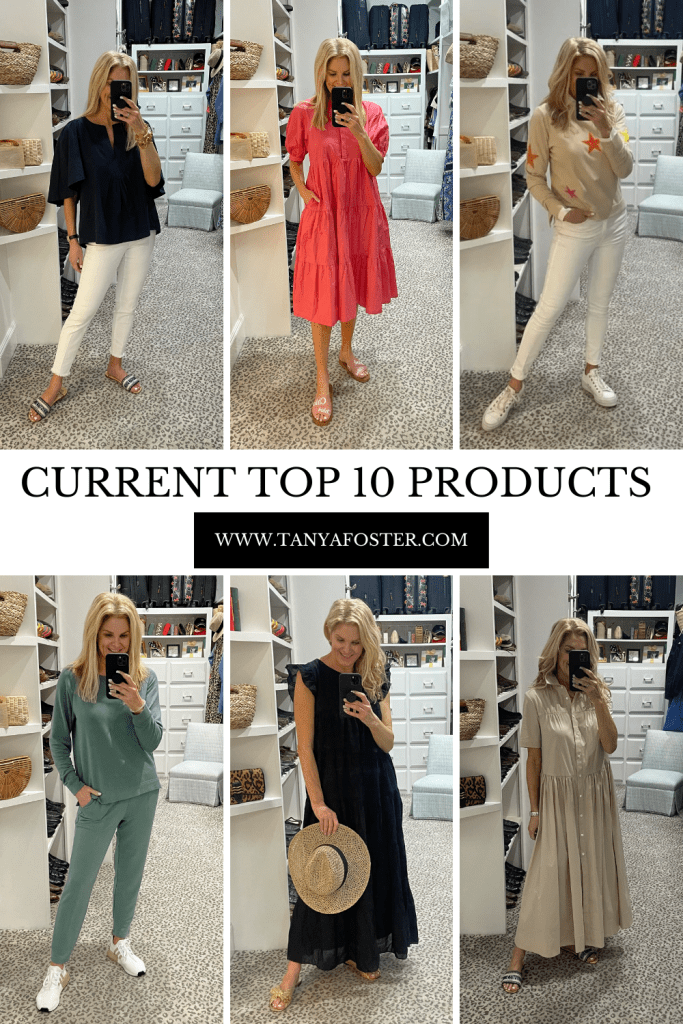 current top 10 products from march tanyafoster.com