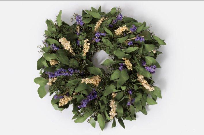 Urban Stems wreath