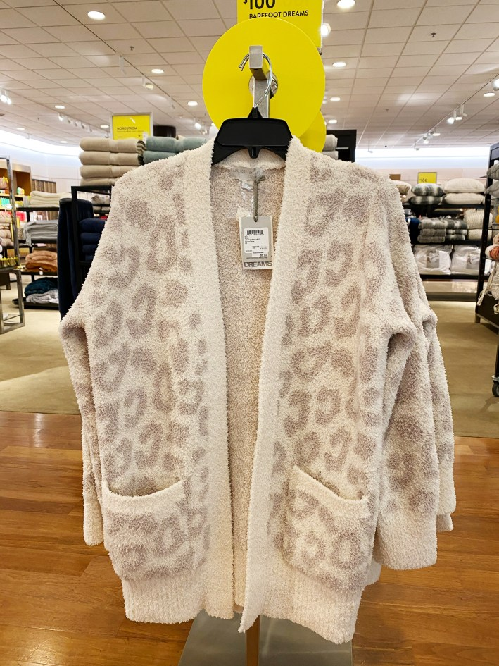 CozyChic Barefoot Dreams leopard cardigan nordstrom anniversary sale