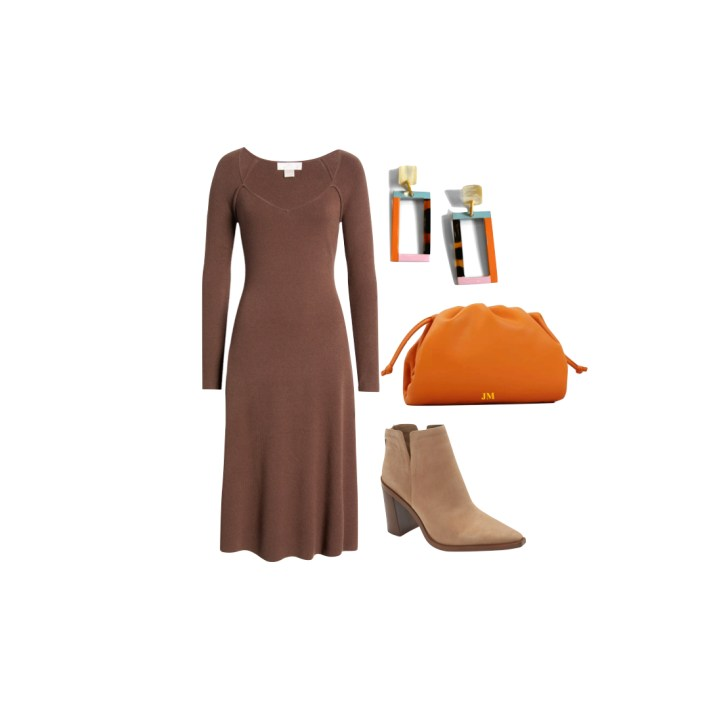 Rachel Parcell dress and accessories