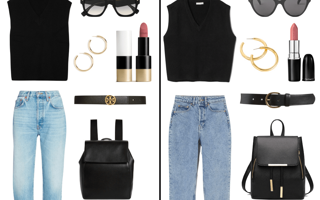Cheers To The Casual Weekend Outfit | High vs. Low