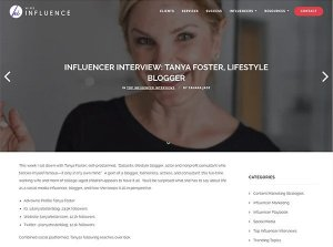 Tanya Foster in Hire Influence