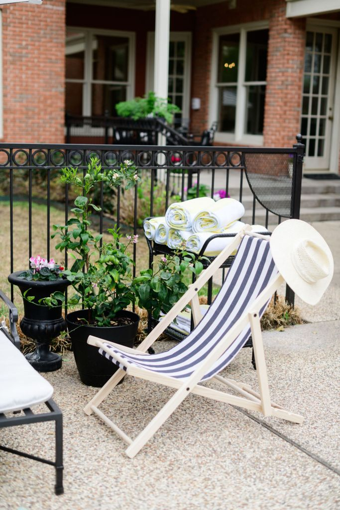 the inside patio chair