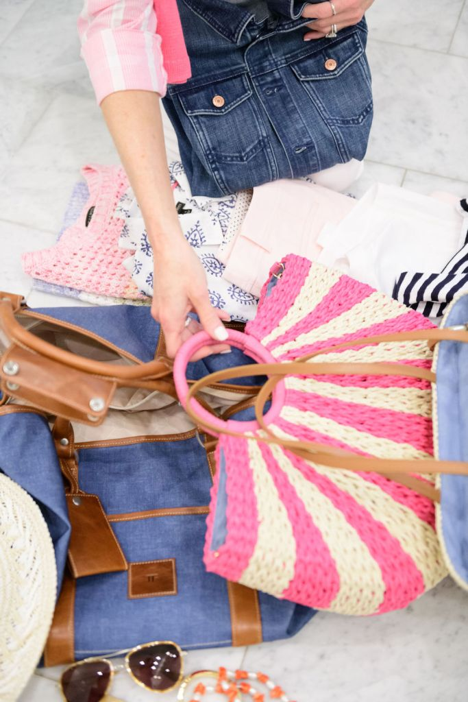 talbots items how to pack for a weekend getaway