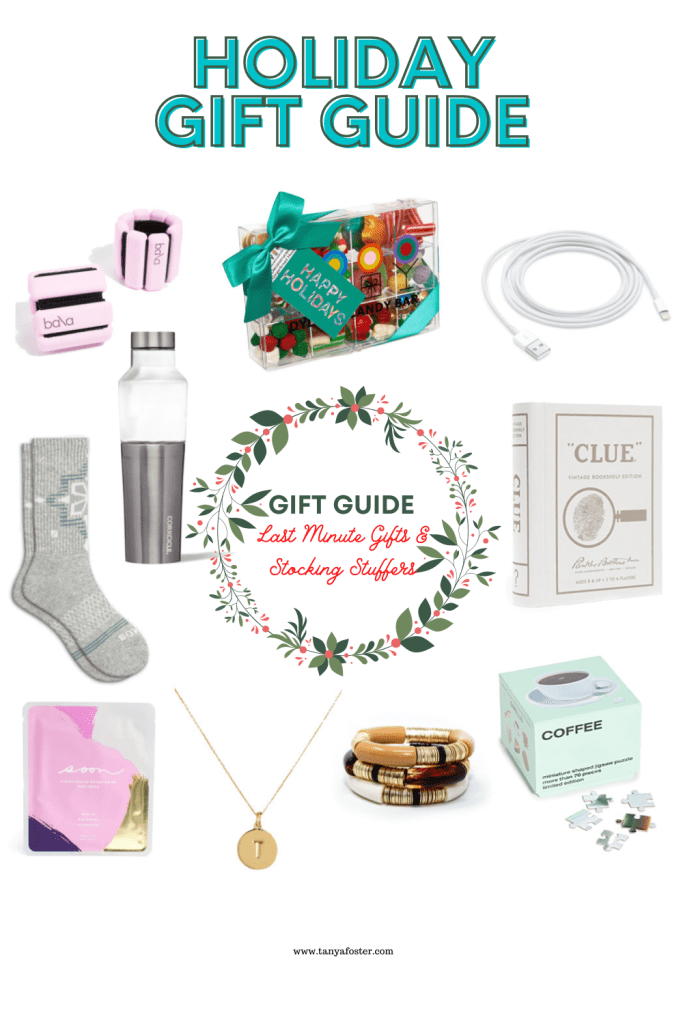 gift guide last minute gifts and stocking stuffers
