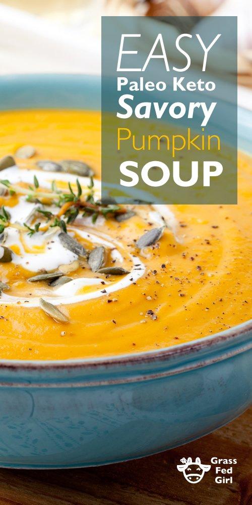 Pumpkin soup keto