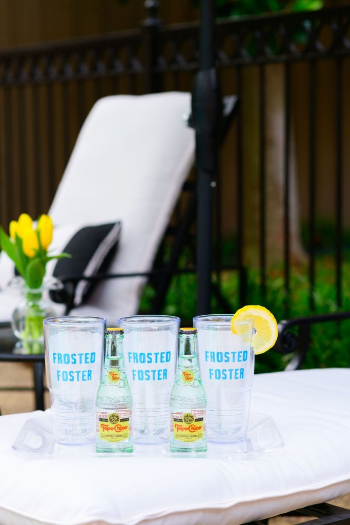 tervis Frosted Foster personalized insulated cup