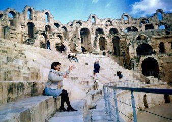 Gladiator road trip in Tunisia