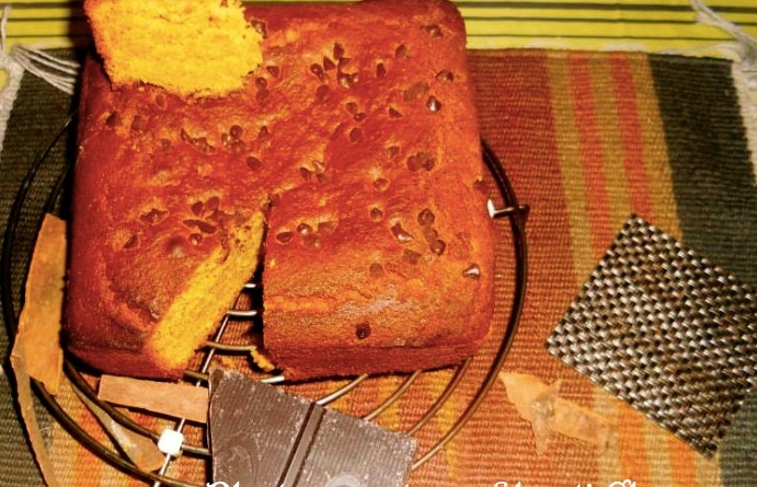 How to make homemade Pumpkin cake