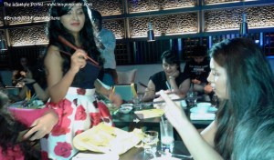 Learning the art of eating with Chopsticks