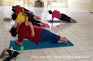 Anita Pandits Yoga CLass5