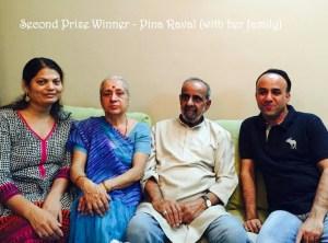 2nd Prize Winner - Pina Raval